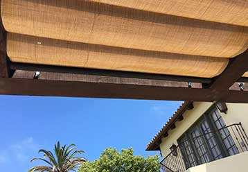 Patio Shades | Motorized Blinds & Shades LA