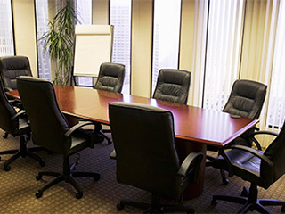 Motorized Vertical Blinds For Conference Rooms